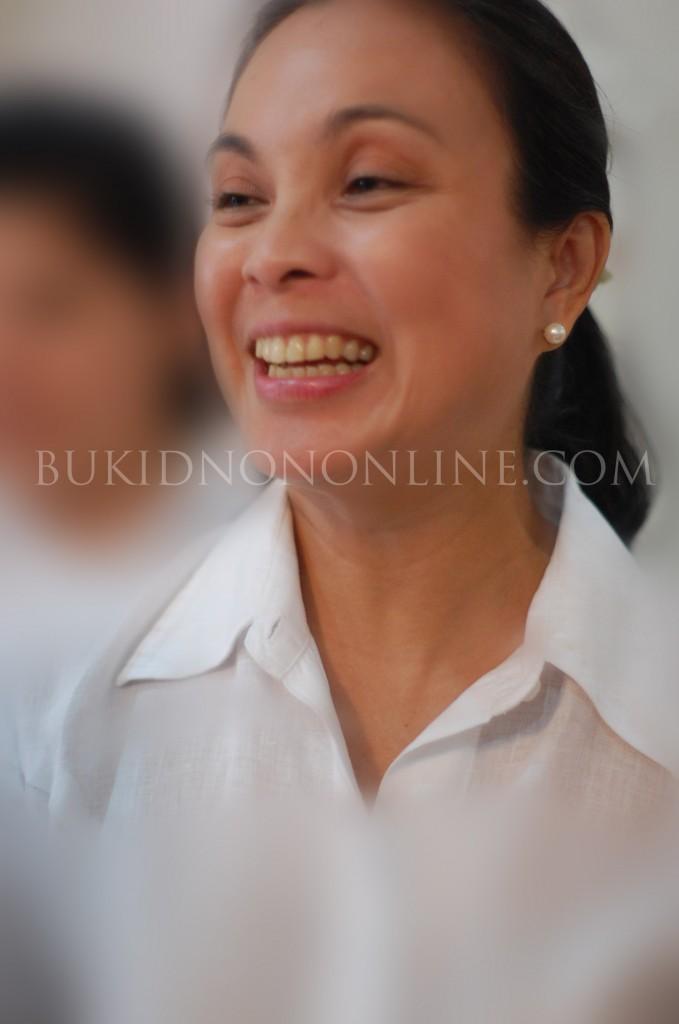 Loren Legarda in Bukidnon