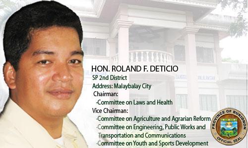 Hon. Roland F. Deticio