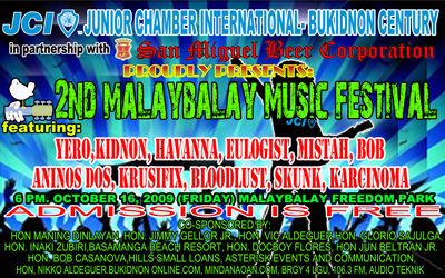 malaybalay music fest