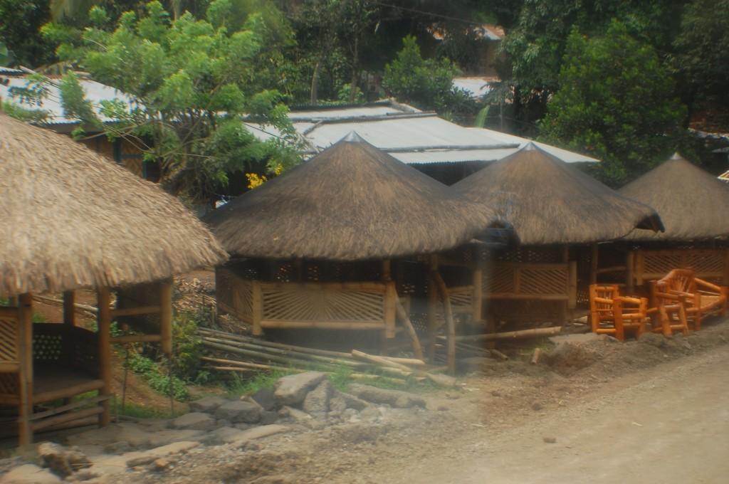 nipa huts in bukidnon