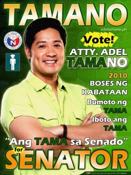 adel tamano for senator