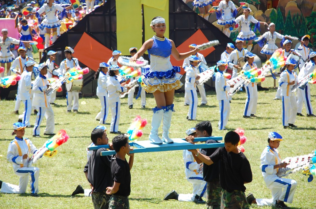 drum and bugle corps kaamulan 2010