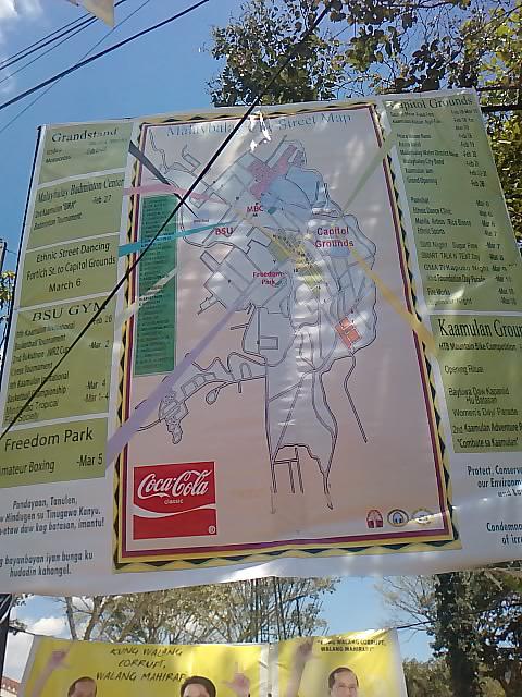 street map kaamulan festival 2010 bukidnon