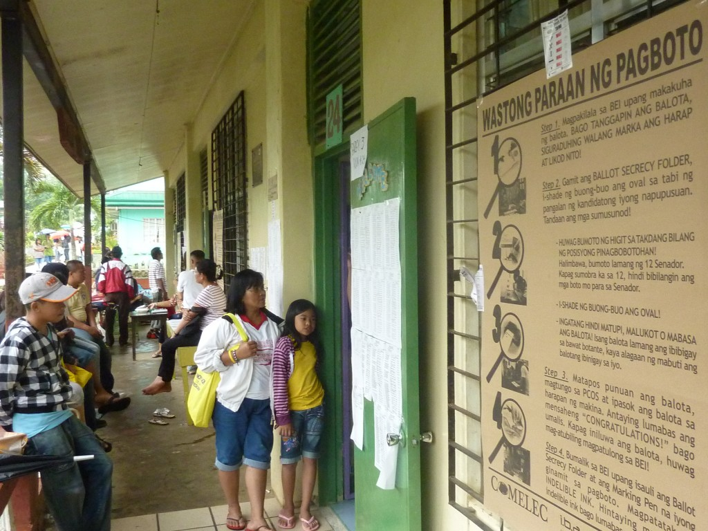malaybalay city central elementary school voting center precinct