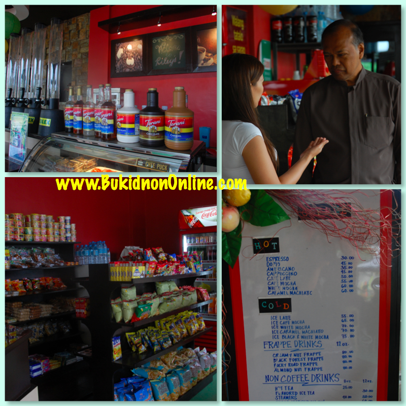 rileys cafe manolo fortich bukidnon