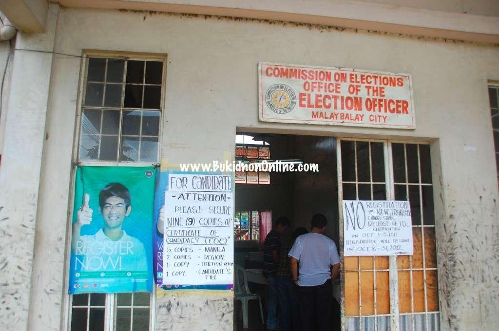 malaybalay comelec office