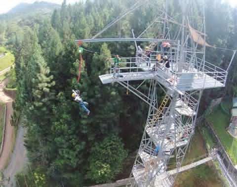 DAHILAyan basejump tower bukidnon