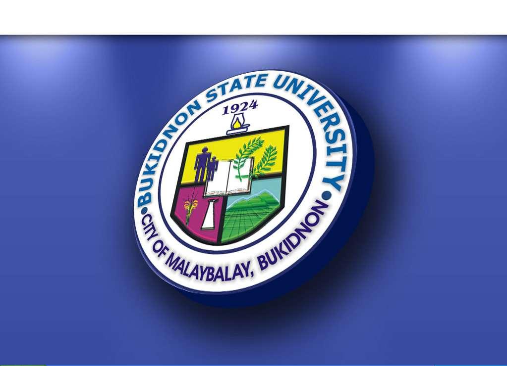 bukidnon state university logo