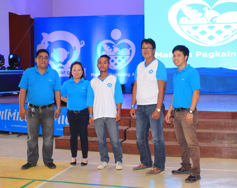 Bukidnon bakery kit beneficiaries
