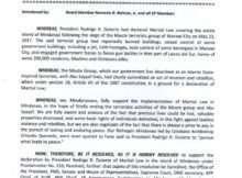 bukidnon resolution martial law mindanao
