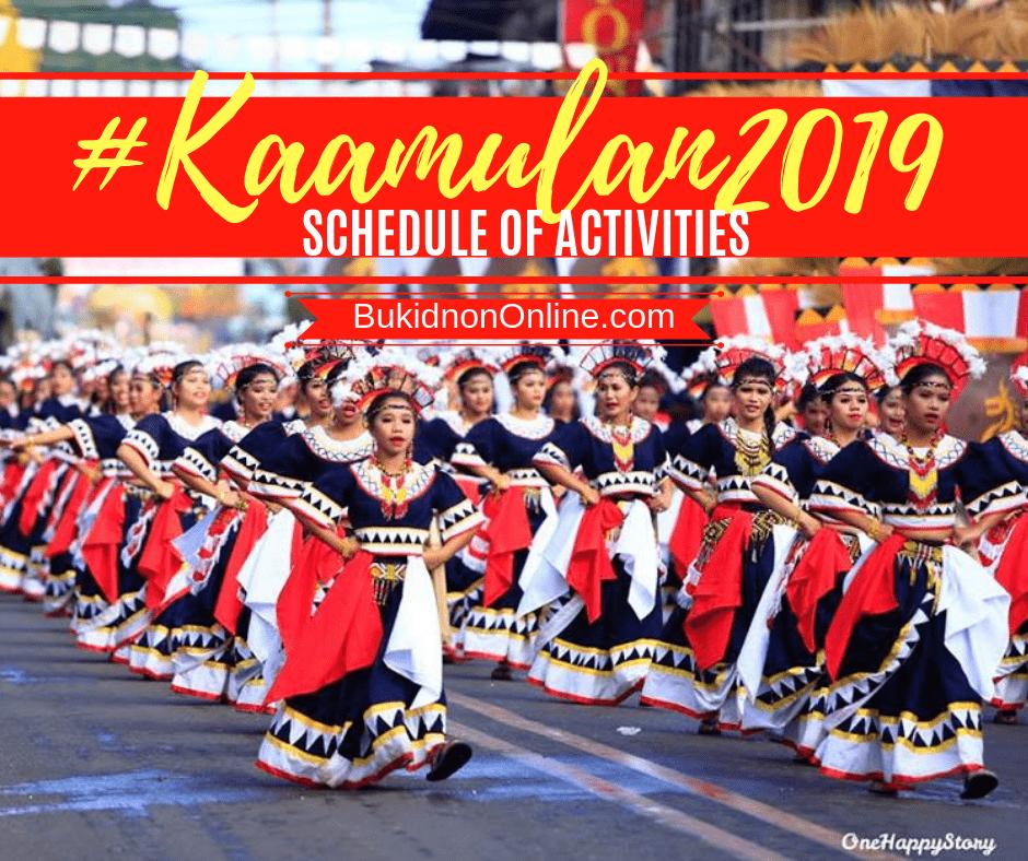 kaamulan 2019 schedule street dancing