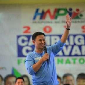 """Senator Sonny Angara vows to continue """"Alagang Angara"""" legacy"""
