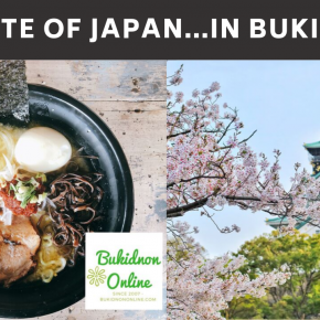 Where to have a taste of Japan in Malaybalay (delicious food, guaranteed)