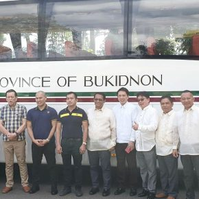 Rural Transit donates another bus to Bukidnon government