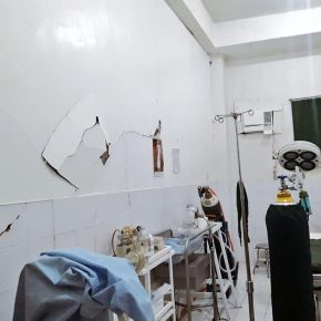 Don Carlos hospital suffers damages, patients evacuated