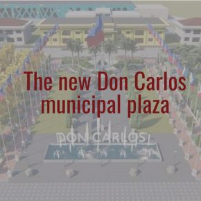 LOOK: Proposed new look for the Don Carlos, Bukidnon municipal plaza