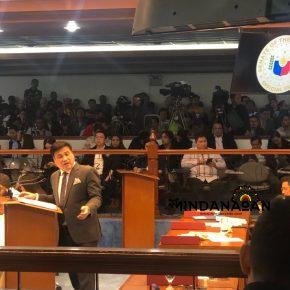 Senator Migz Zubiri says he is COVID-19 positive