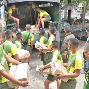 Bukidnon receives food packs from army, social welfare office