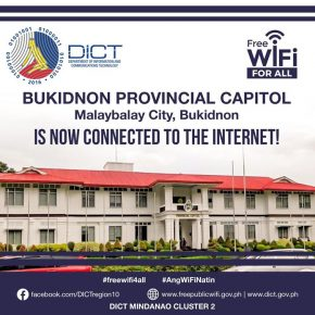 Bukidnon Capitol now offers FREE wifi Internet