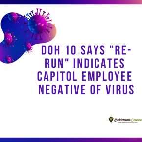 "DOH 10: ""re-run"" of virus test says Capitol employee negative"
