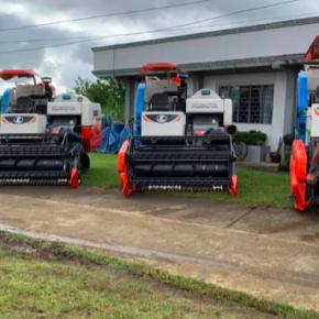 Bukidnon farmers get P41.5 M agri machinery