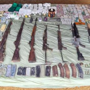 Army seizes weapons, explosives from NPA base at Mount Kitanglad range