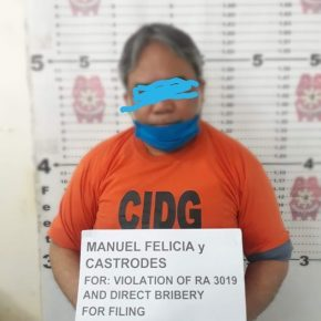 Arrested Bukidnon Registry of Deeds chief posts bail