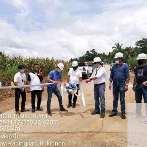 Manoy Zubiri-endorsed Php 72M Kadingilan road now turned over