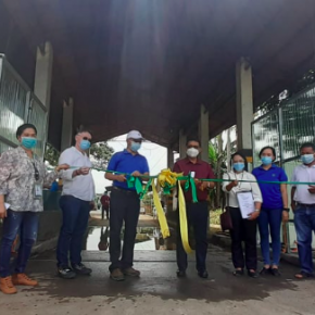 Malaybalay and Manolo Fortich get first automated swine fever disinfection systems in Mindanao