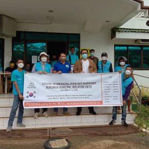 Korean NGO donates PPEs to Baungon isolation units