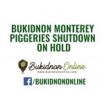 Shutdown of Monterey piggeries in Bukidnon on hold