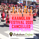 Kaamulan Festival 2021 is officially canceled