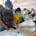 Lantapan barangay officials receive Christmas bonuses on February