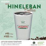Bukidnon's Hineleban Coffee now served in Krispy Kreme stores