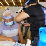 Malaybalay Mayor Flores receives first COVID-19 vaccination shot